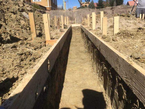 Usługi budowlane, stany surowe