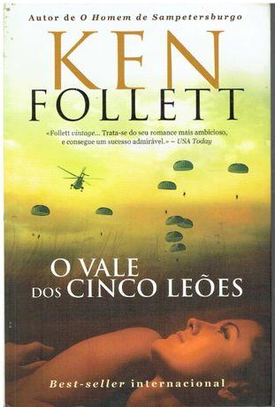 7770 O Vale dos Cinco Leões de Ken Follett;