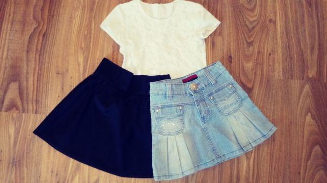 spódniczki i bluzeczka r. 128