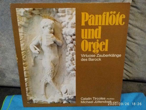 Płyta winylowa muzyka baroku flet i organy - Luboń