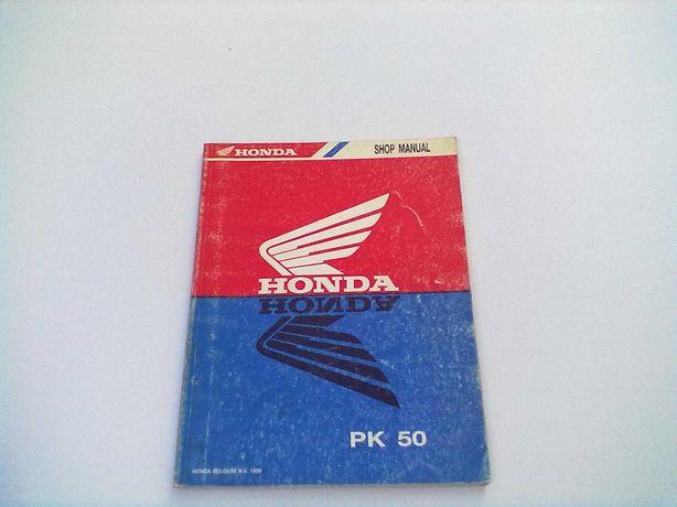 Manual Técnico Oficial Honda Wallarco PK 50