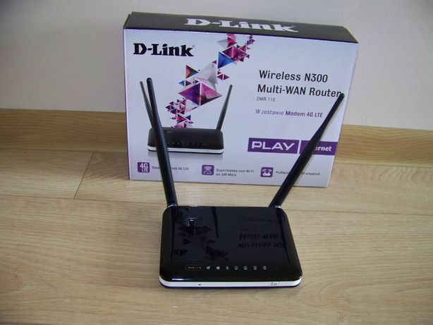 Router D-Link, pudełko