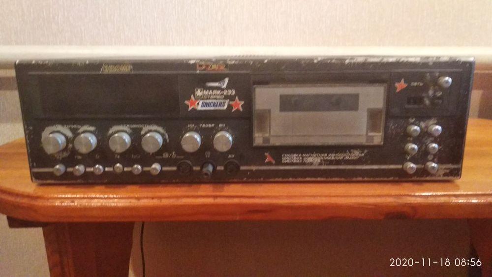 Маяк 233 кассетный магнитофон Полтава - изображение 1