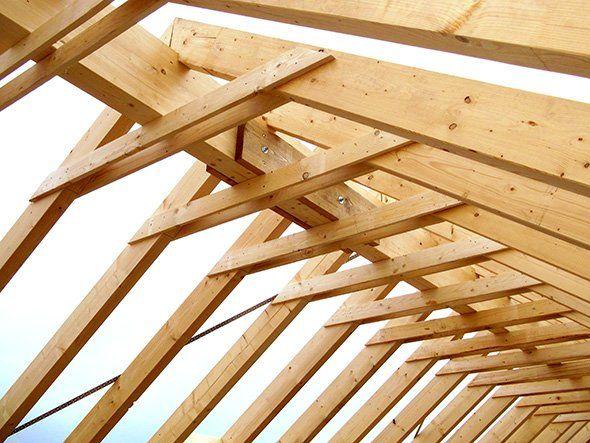 Więźba dachowa łata kontrłata