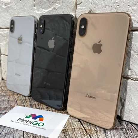 Used IPhone Xs Max 64/256Gb Gold/Space Gray/Silver Гарантия, Обмен