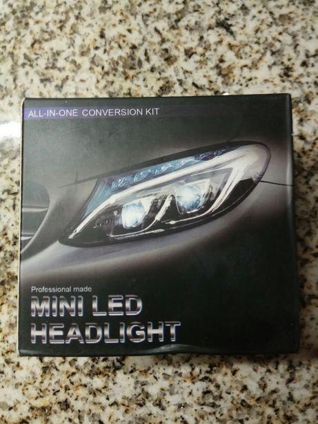 lâmpadas led H1 H4 H7 H8 H11