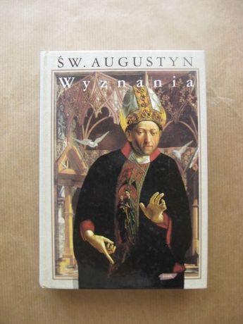"""książka """"Św. Augustyn wyznania"""""""