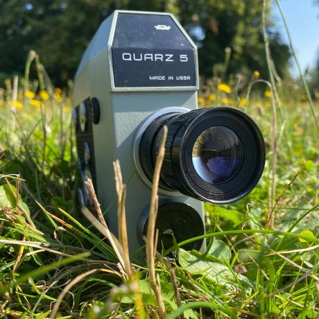 Kamera Quarz 5 made in USSR 8mm na szpule