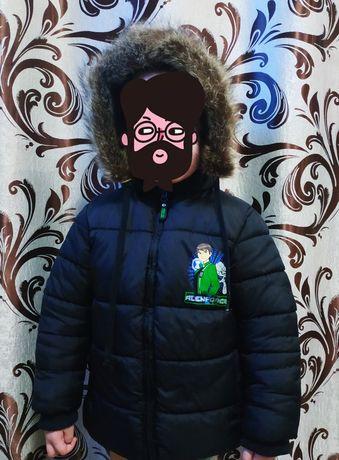 Зимняя куртка ...пуховик ...очень теплая.