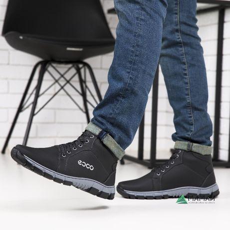 Зимові черевики чоловічі -20 °C Ботинки мужские кроссовки #ЛБ 21