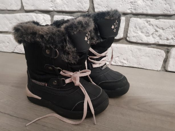 Buty zimowe kozaki Lupilu 23 jak nowe