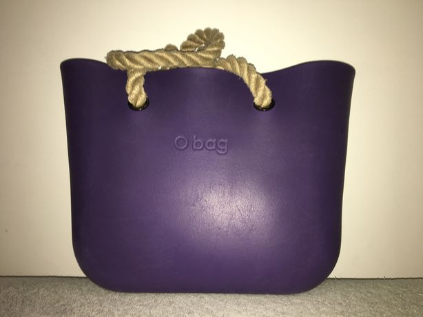 fioletowa torebka Standard Obag