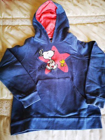 Sweatshirt / Camisola do Snoopy - 9 anos
