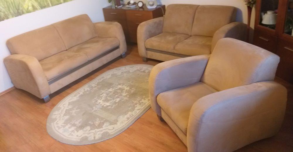 Sofa, fotel zestaw wypoczynkowy Szczecin - image 1