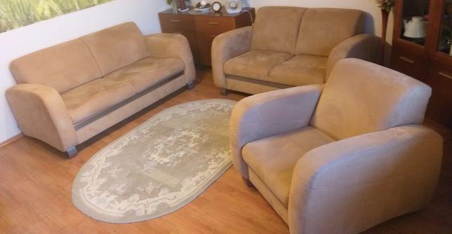 Sofa, fotel zestaw wypoczynkowy