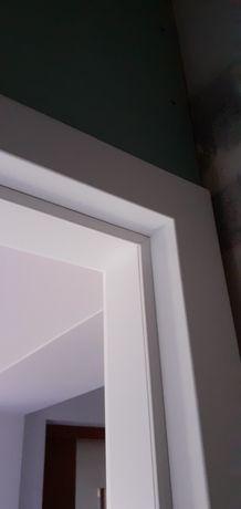 Ościeżnica do drzwi bez przylgowych  80cm Lewa