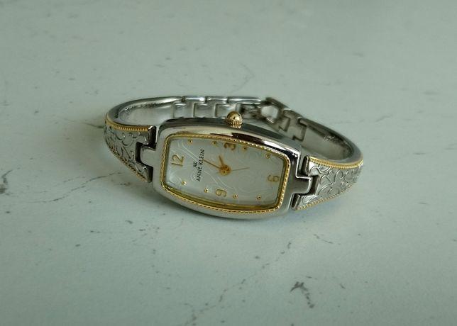 ANNE KLEIN женские часы квадратные серебристые на браслете кварц