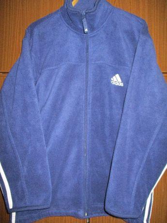 Флисовая теплая курточка Adidas