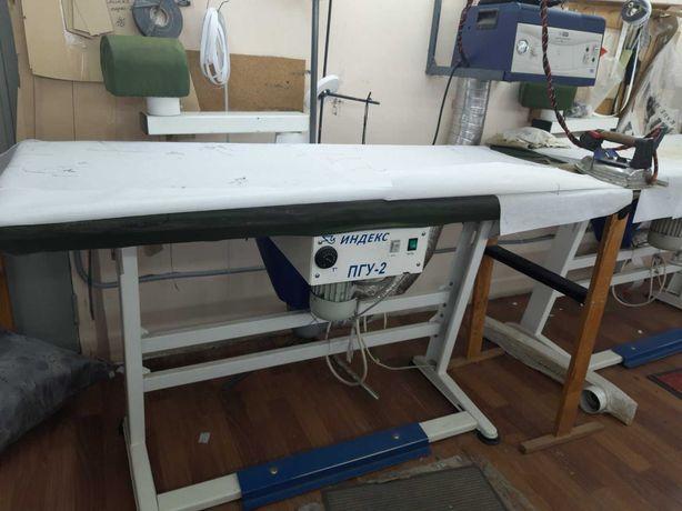 Продам гладильный стол с пароотсосом