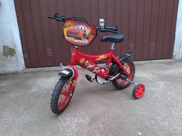 Bicicleta Faisca Mcqueen - 12'5 polegadas