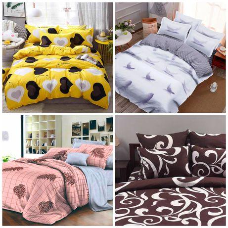 Комплекты постельного с ткани бязь, ранфорс, с атин, 100% хлопок