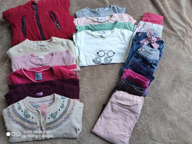 Paka ubrań dla dziewczynki 1,5-2 lata