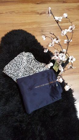 Cudny zestaw:) bluzeczka w panterkę ATMOSPHERE spódnica HAUSE roz M
