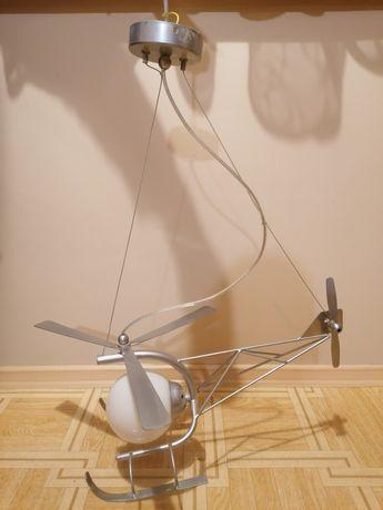 Lampa helikopter pokój dziecięcy dla chłopca