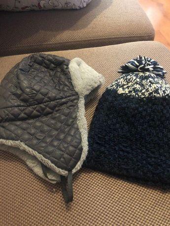 3 шапки на мальчика 12-18 месяцев