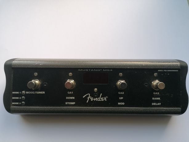 Fender footswitch MS4