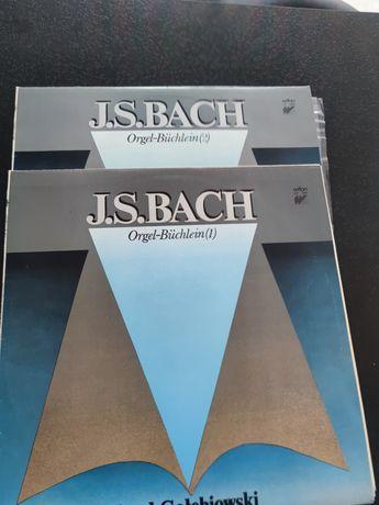 J.S. Bach część 1 i 2 - Karol Gołębiowski - 2 płyty winylowe