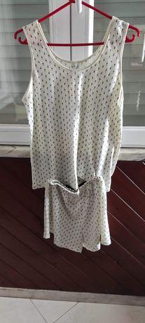pijama curto em algodão