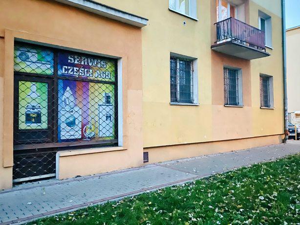 Bałuty 68 m² frontowy lokal usługowy, parter, witryna, osiedle, park