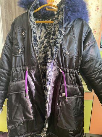 курточка тёплая зимняя для девочки