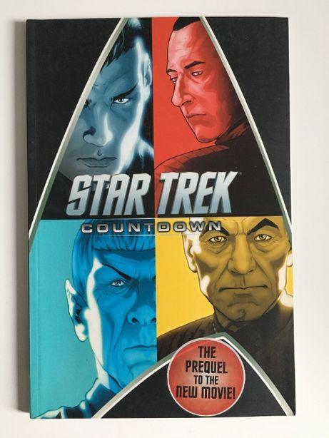 Star Trek Countdown Movie Prequel 100+ stron