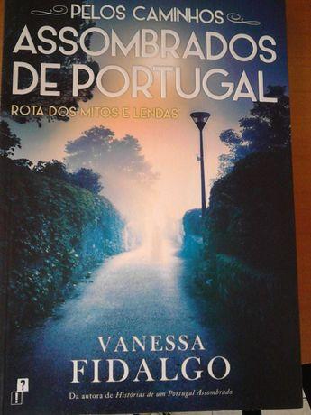 """vende-se livro """"Pelos Caminhos Assombrados de Portugal"""""""
