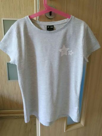 T-shirt Dziewczęcy Firmy 4F Roz 158 Bardzo Polecam