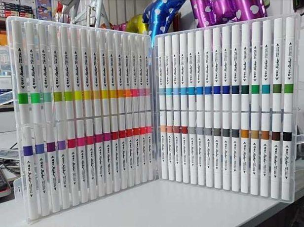60шт Sketch marker ОРИГИНАЛ художественные скетч маркеры