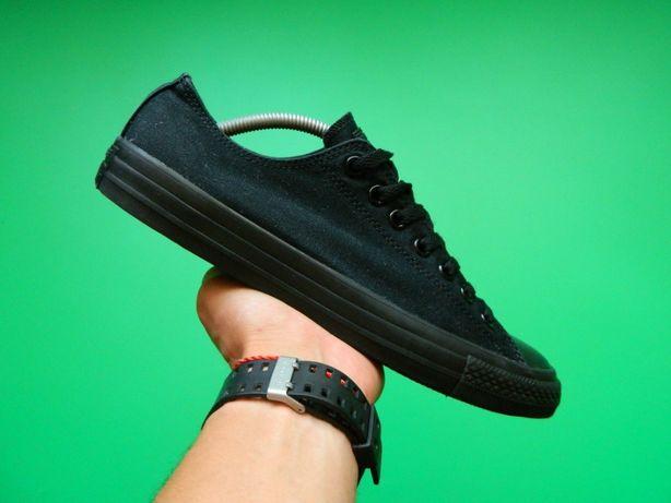 Мужские кеды Converse All Star Ox Black Mono / Vans / Reebok / Nike
