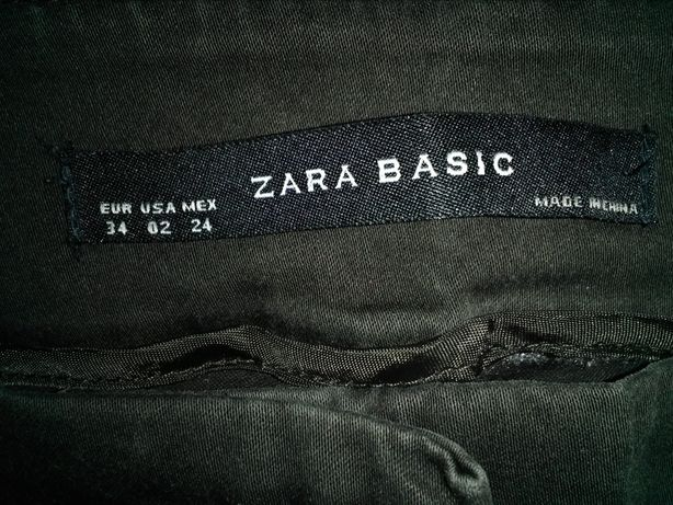 Zara Basic брюки капри джинсы скинни чиносы брючки летние S 8 10 34 36