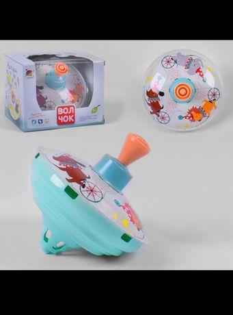 Детская юла Волчок в коробке развивающая игрушка дзига