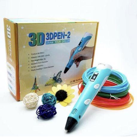 ХИТ!/3D ручка с LCD Дисплеем экраном 3D Pen-2