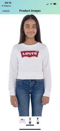 Новый свитшот Levi's 12-13 лет