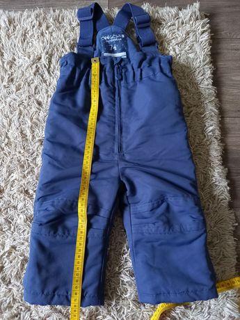 Spodnie narciarskie 74 cool club smyk