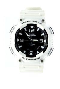 Zegarek sportowy solarny CASIO AQS810W biały Lombard Tarnów