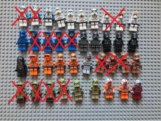 Продам Лего Аналог Минифигурки Star Wars!
