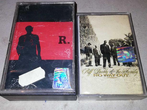 Kasety R Kelly podwójna i Puff Daddy. Hiphop RnB