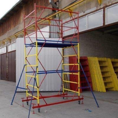 Вышка тура , вежа-тура леса строительные на колесах от производителя