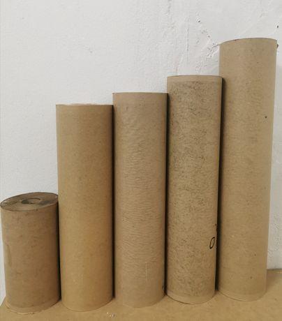 Rolos papel alcatron