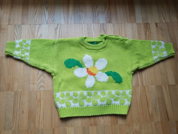 Sweter, United Colors of Benetton, rozmiar 74
